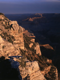 Grand Canyon National Park  from Mother Point at Sunrise  Arizona  USA