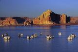 Wahweap Marina  Glen Canyon National Recreation Area  Lake Powell  Page  Arizona