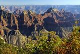 Sunset  Bright Angel Point  North Rim  Grand Canyon National Park  Arizona  USA