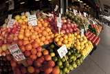 Fruits and Vegetables at Pike Place Market  Seattle  Washington  USA