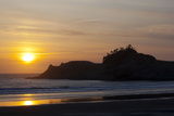 Sunset  Cape Kiwanda  Oregon  USA