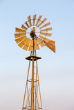 Old Windmill at Sunset Near New England  North Dakota  USA