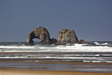 Rockaway Beach  Twin Rocks  Oregon  USA