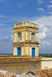 Buildings in Plaza Mayor  Trinidad  UNESCO World Heritage Site  Cuba