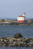 Coquille River Lighthouse  Built 1896  Bandon  Oregon  USA