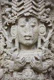 Ancient Architecture  Stele a in Copan Ruins  Maya Site of Copan  Honduras