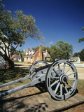Cannon at Colonial National Historical Park  Yorktown  Virginia  USA