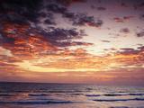 View of Sunrise over Atlantic Ocean  Florida  USA