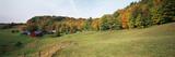 Jenne Farm in Autumn  Reading  Vermont  USA