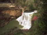 View of Burgess Falls  Burgess Falls State National Park  Tennessee  USA