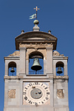 Clock Tower of Palace of the Lay Fraternity  Arezzo  Tuscany