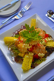 Cuisines  Shrimp Salad  Matangi Private Island Resort  Fiji