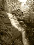 View of Waterfall  Jessamine County  Kentucky  USA