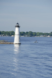 Lighthouse  St Lawrence Seaway  Thousand Islands  New York  USA