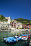 City and Church of Santa Margherita d'Antiochia of Vernazza  Italy