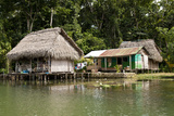 Indigenous Dwelling  Lake Izabal  Guatemala