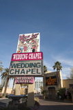 Viva Las Vegas Wedding Chapel  Las Vegas  Nevada  USA
