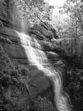 View of Waterfall  Jessamine County  Kentucky  USA