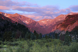 Sunrise at Moraine Park  Rocky Mountain National Park  Colorado  USA