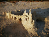View of Sandcastle on Beach
