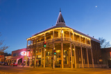 The Weatherford Hotel at Dusk in Historic Downtown Flagstaff  Arizona  USA