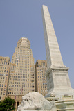 McKinley Monument  Art Deco Building  City Hall  Buffalo  New York  USA
