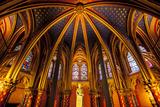 The Lower Chapel  Sainte Chapelle  Paris  France