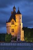 15th C Guard Tower  Chateau Chenonceau  Castle  Loire Valley  Central France