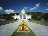 State Capitol Building  Montpelier  Vermont  USA