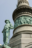 Civil War Monument  'Soldiers and Sailors'  Lafayette Square  Buffalo  New York  USA