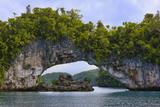Rock Bridge  Rock Islands  Palau