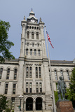Historic Erie County Hall and Clock Tower  Buffalo  New York  USA