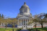 Washington State Capitol  Legislative Building  Olympia  Washington  USA