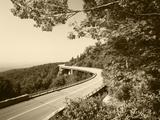 Linn Cove Viaduct  Blue Ridge Parkway National Park  North Carolina  USA