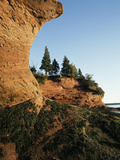 Sea Caves at Hack's Beach  Bay of Fundy  St Martins  New Brunswick  Canada