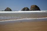 Oceanside Beach  Oceanside Beach State Wayside  Oregon  USA