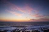 Ocean Sunset  Cape Perpetua Scenic Area  Oregon  USA