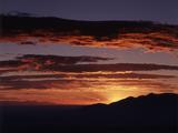 View of Capitol Reef National Park at Sunrise  Utah  USA