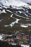 Elevated Town View from Mount Baldy  Breckenridge  Colorado  USA