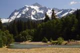 Camping  Hooksack River  Mt Shuksan  Mt Baker-Snoqualmie National Park  Washington  USA