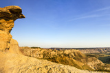 Badlands Rock Formation  Missouri River Breaks National Monument  Montana  USA