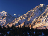 Wheeler Crest and Mt Tom with View of Sierra Range Near Bishop  California  USA