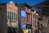 Downtown Buildings  Basalt  Colorado  USA