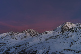 Sunrise  Mt Wildspitze  Mt Brochkogel  Mt Fluchtkogel  Oetztal Alps  Tyrol Austria