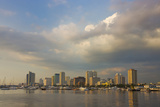 High Rises Along the Waterfront  Manila Bay  Manila  Philippines