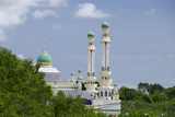 Water Village Mosque  Bandar Seri Begawan  Darussalam  Brunei  Borneo