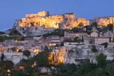 Medieval Town of Les Baux De-Provence  France