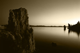Tufa Rock Formation at Dawn in Mono Lake  Eastern Sierra  California  USA