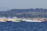 SEAFAIR  Vintage Hydroplane Races  Lake Washington  Seattle  Washington  USA