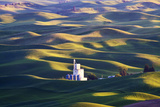 Grain Silo  Palouse Country  Washington  USA